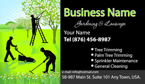 Gardening Business Cards 06