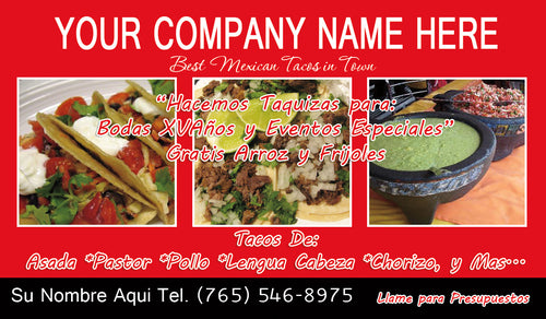 Tacos Business Card 06