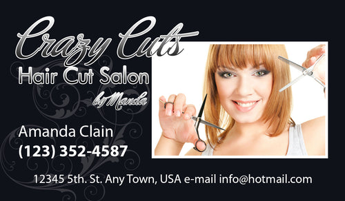 Beauty Shop Business Cards 06