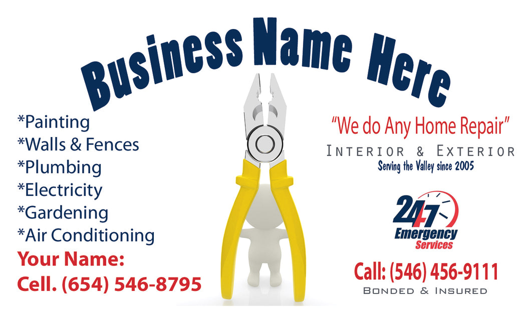 Handyman Business Cards 06
