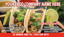 Load image into Gallery viewer, Tacos Business Card 07