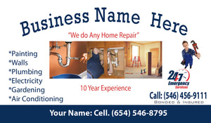 Handyman Business Cards 07