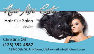 Beauty Shop Business Cards 07