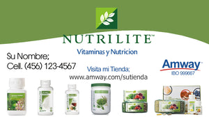 Amway Business Cards 07