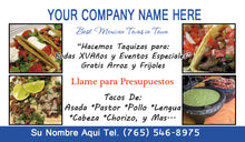 Load image into Gallery viewer, Tacos Business Card 08