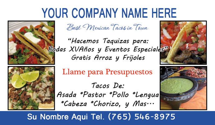 Tacos Business Card 08