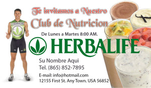 Herbalife Business Card 08