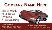 Load image into Gallery viewer, Car Wash Business Cards 08