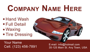 Car Wash Business Cards 08
