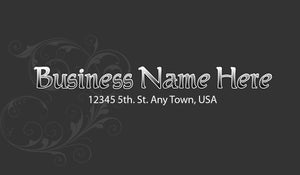 Beauty Shop Business Cards 08