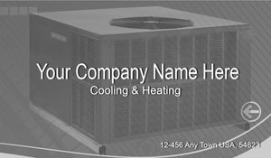 Air Conditioning Business Cards 08