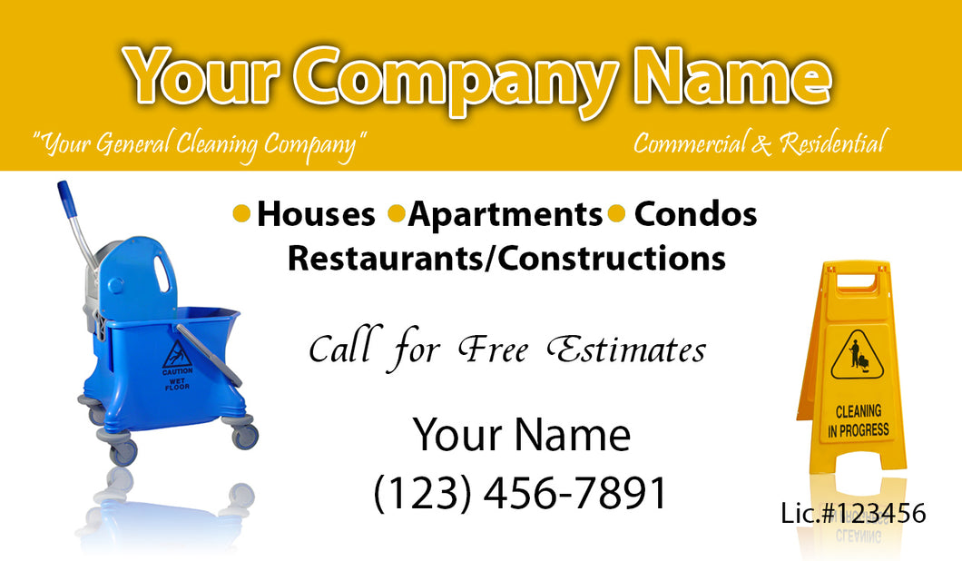 House Cleaning Business Cards 08