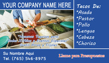 Load image into Gallery viewer, Tacos Business Card 09