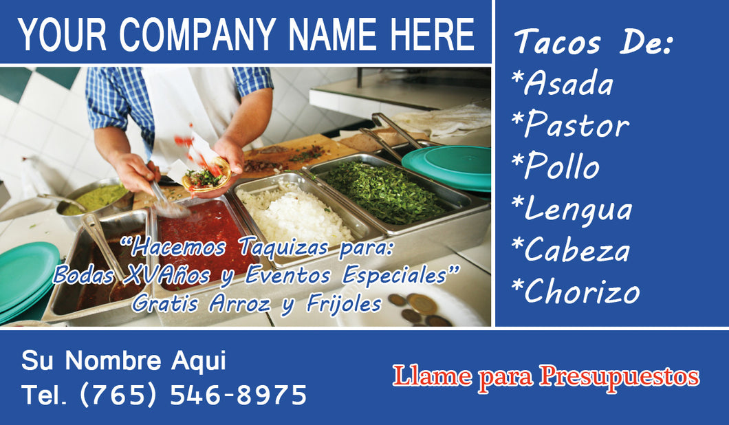 Tacos Business Card 09