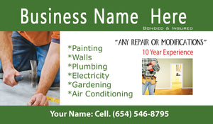 Handyman Business Cards 09