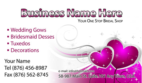 Bridal Shop Business Cards 09