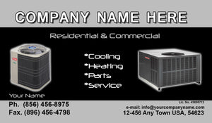 Air Conditioning Business Cards 09