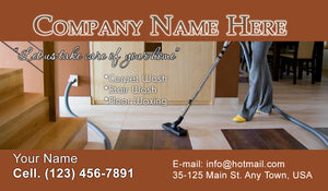 Carpet Cleaning Business Cards 09