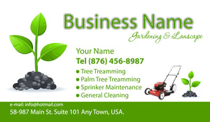 Gardening Business Cards 10