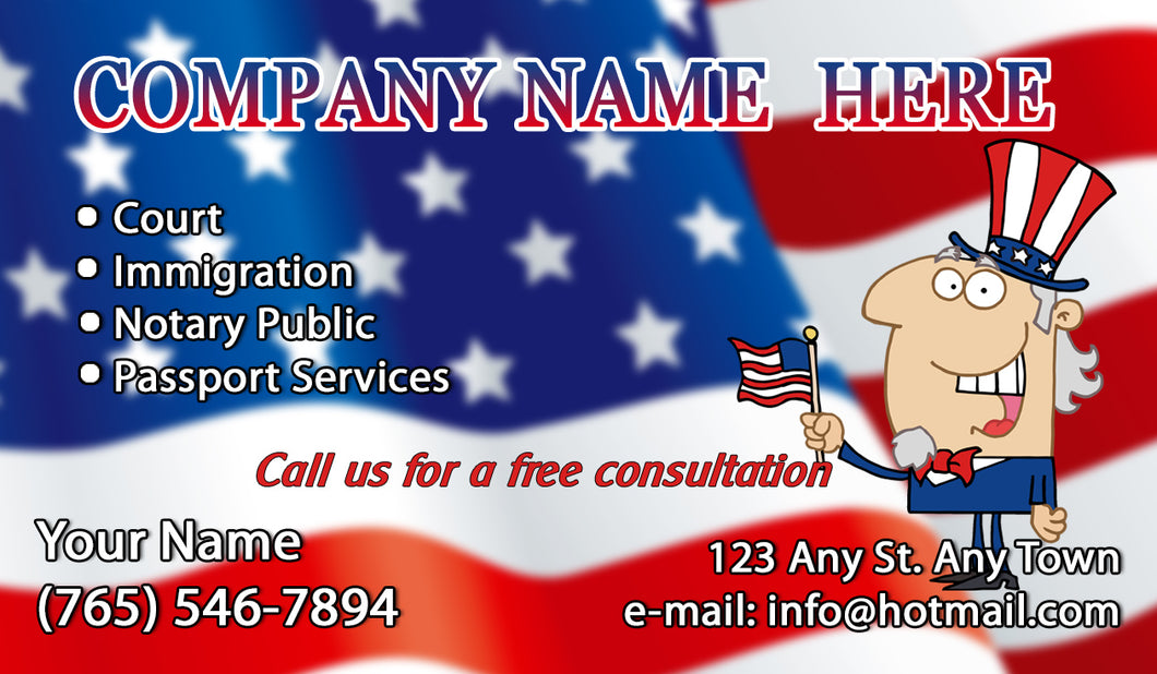Tax Business Cards 10