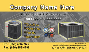 Air Conditioning Business Cards 10