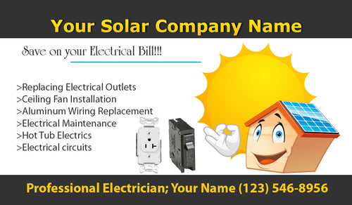 Electrician Business Cards 10