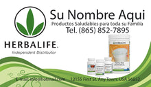 Load image into Gallery viewer, Herbalife Business Card 10