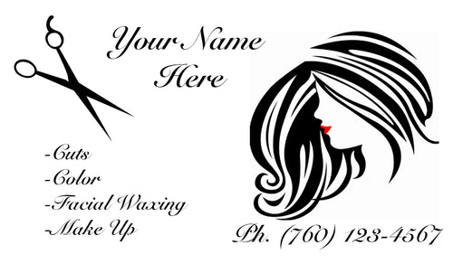 Beauty Shop Business Cards 11