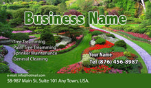 Load image into Gallery viewer, Gardening Business Cards 11