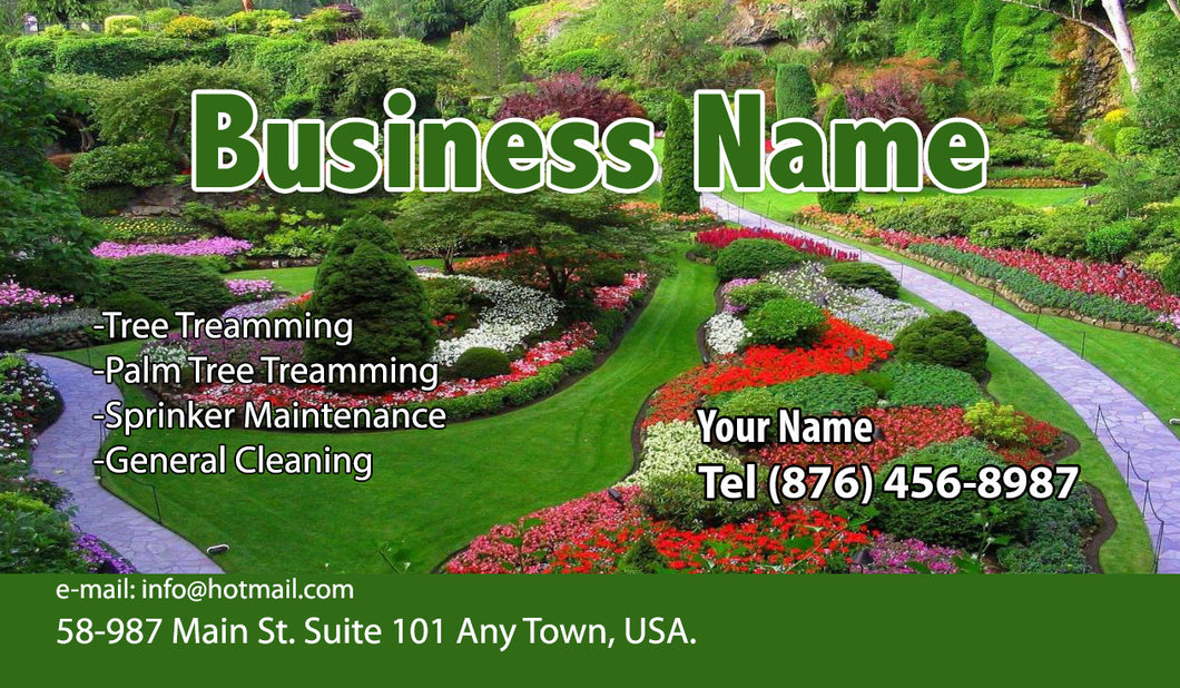 Gardening Business Cards 11