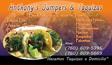 Load image into Gallery viewer, Tacos Business Card 12
