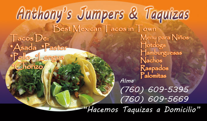 Tacos Business Card 12