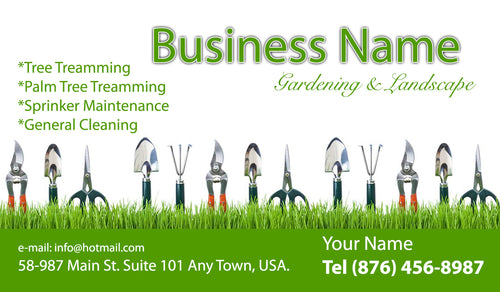 Gardening Business Cards 12