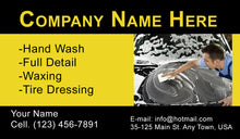 Load image into Gallery viewer, Car Wash Business Cards 12