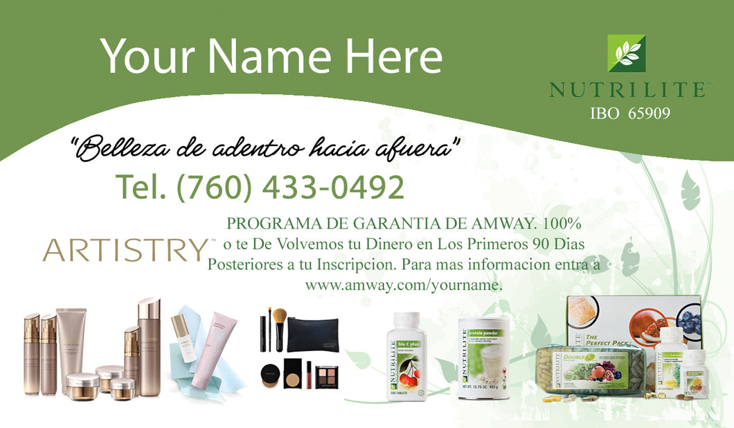 Amway Business Cards 12