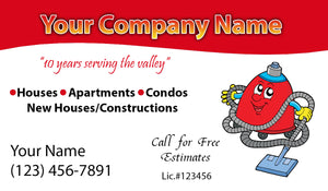 House Cleaning Business Cards 12