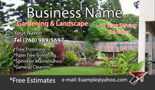 Load image into Gallery viewer, Gardening Business Cards 13
