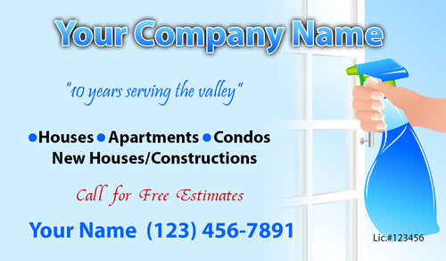House Cleaning Business Cards 14