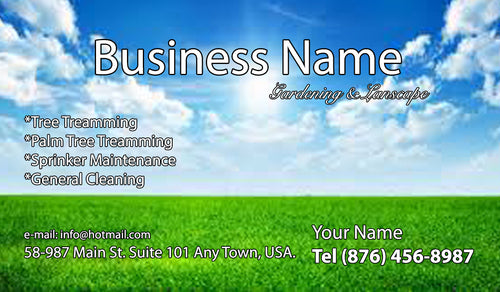 Gardening Business Cards 15