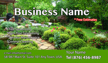 Load image into Gallery viewer, Gardening Business Cards 16