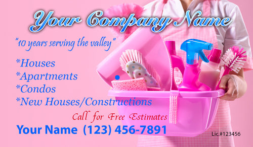House Cleaning Business Cards 16