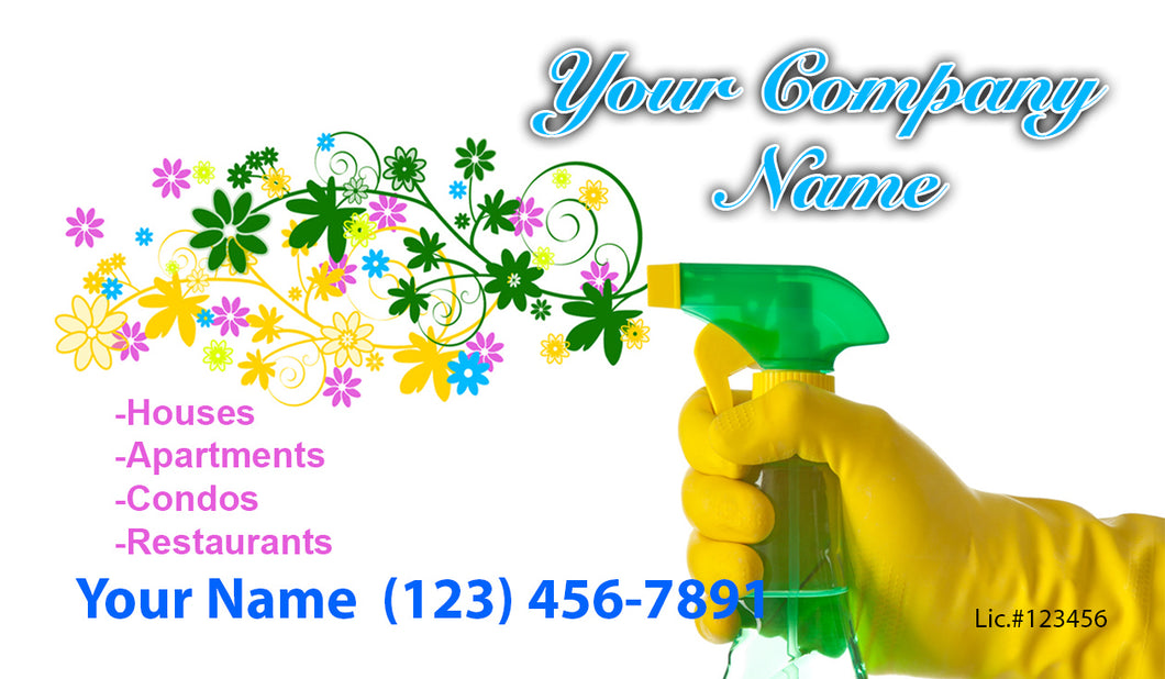 House Cleaning Business Cards 18