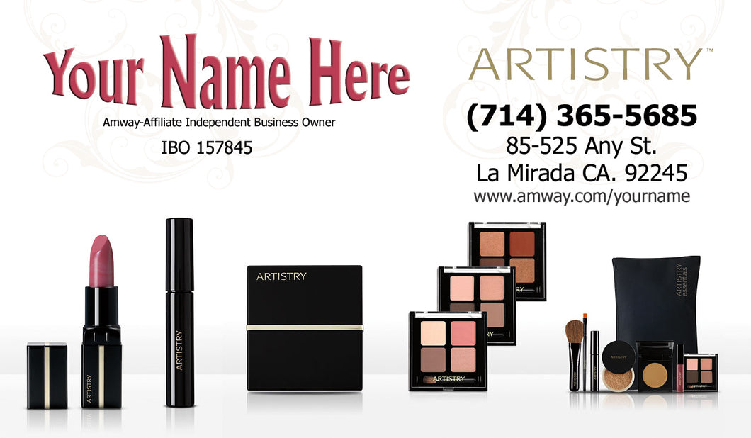 Amway Business Cards 18