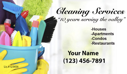 House Cleaning Business Cards 20