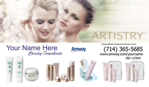Amway Business Cards 25