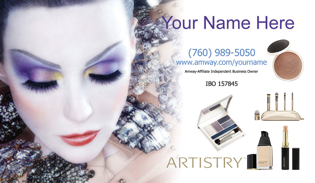 Amway Business Cards 26