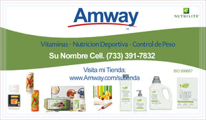 Amway Business Cards 31