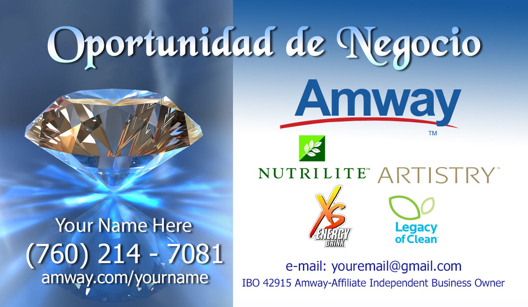 Amway Business Cards 44