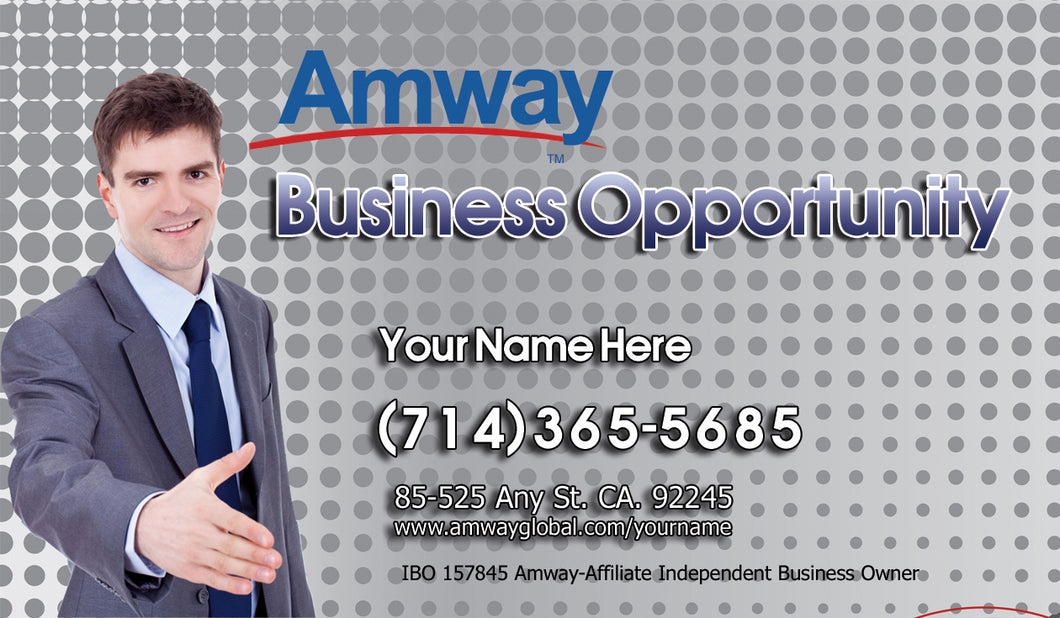 Amway Business Cards 46