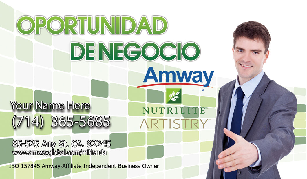 Amway Business Cards 47